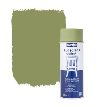 GAMMA spuitlak zijdeglans olijf groen 400 ml