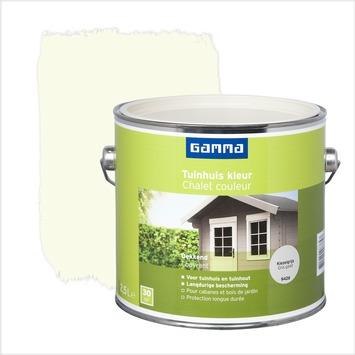 GAMMA beits tuinhuis kleur zijdeglans kiezelgrijs 2,5 L