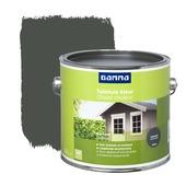 GAMMA beits tuinhuis kleur zijdeglans antraciet 2,5 L