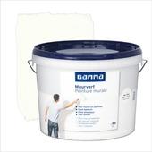 GAMMA muurverf mat gebroken wit 10 L
