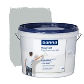 Peinture murale GAMMA mat gris brouillard 10 L