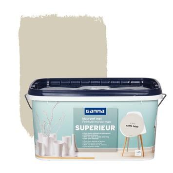 Peinture murale GAMMA SUPERIEUR mat 5 L caffè latte