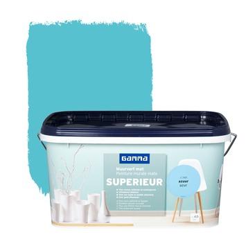 Peinture murale GAMMA SUPERIEUR extra mat 5 L azur