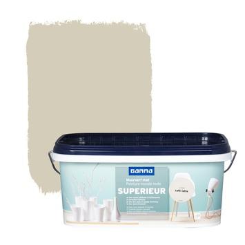Peinture murale GAMMA SUPERIEUR extra mat 2,5 L caffè latte