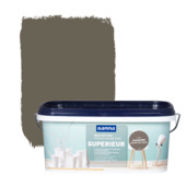 GAMMA Superieur muurverf mat cacaopoeder 2,5 L