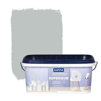 GAMMA Superieur muurverf zijdeglans zink 2,5 L