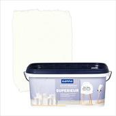 GAMMA Superieur muurverf zijdeglans gebroken wit 2,5 L