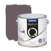 Peinture murale GAMMA Quality line extra mat amethist 2,5 L