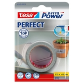 Tesa Extra Power perfect reparatietape 2,75 m x 19 mm grijs