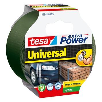 Tesa Extra Power textieltape 10 m x 50 mm groen