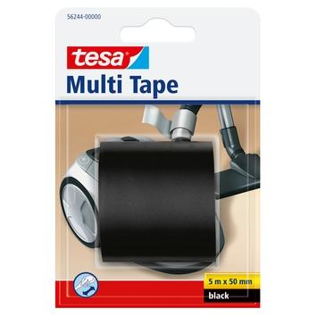 Tesa Multi Tape pvc 5 m x 50 mm zwart