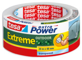 Tesa Extreme Outdoor Ruban de réparation 20 m x 48 mm transparent