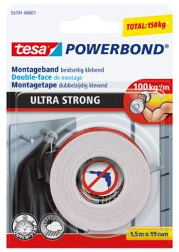 Tesa powerbond ultra strong 1,5m x 19mm