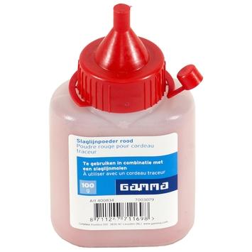 GAMMA slaglijnpoeder rood 100 g