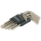 Jeu de clés hexagonales GAMMA avec clips 1,5-10