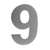 GAMMA huiscijfer 9 groot inox