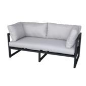 Canapé lounge Chelva anthracite