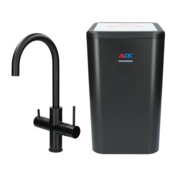 Handson Ace 3-in-1 kokend water kraan met boiler 3 liter Zwart