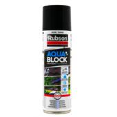 Rubson aquablock spray zwart 300 ml