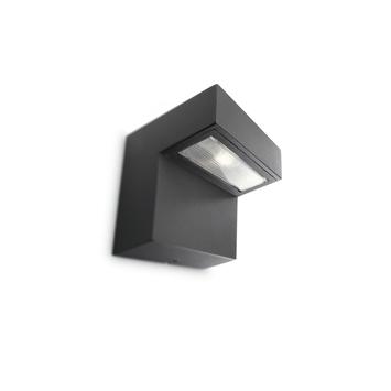 Philips wandlamp Riverside met geïntegreerde LED 6,5W 270 lumen zwart