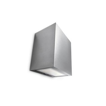 Applique extérieure Flagstone Philips LED intégrée 6,5W 300 lumens inox