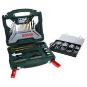 Bosch X-line accessoireset  50 stuks + bevestigingsset 173 stuks173
