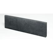 Boordsteen zwart 100x30x6 cm