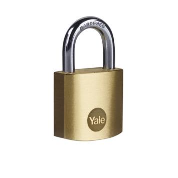 Yale hangslot 30 mm gelijksluitend 2 stuks