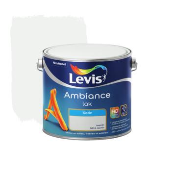 Laque Ambiance Levis satinée 2,5 L jasmin