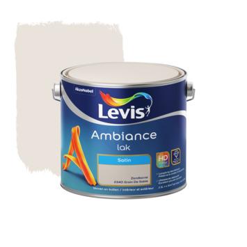 Laque Ambiance Levis satinée 2,5 L grain de sable