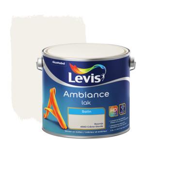 Laque Ambiance Levis satinée 2,5 L crème glacée