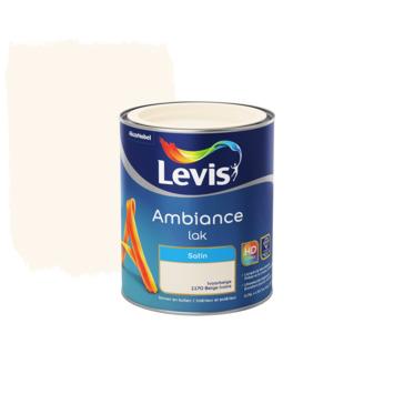 Laque Ambiance Levis satinée 750 ml beige ivoire