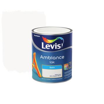 Laque Ambiance Levis satinée 750 ml requin blanc