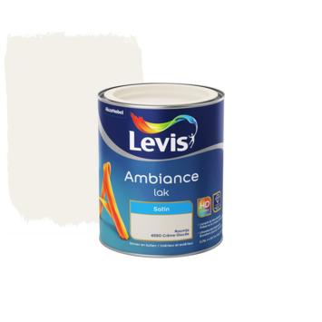 Laque Ambiance Levis satinée 750 ml crème glacée