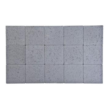 Kasseien Beton Ongetrommeld Grijs 15x15x6 cm - 120 Stuks / 2,76 m2