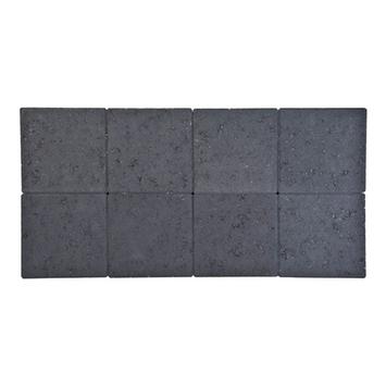 Kasseien Beton Ongetrommeld Zwart 20x20x6 cm - 72 Stuks / 2,88 m2