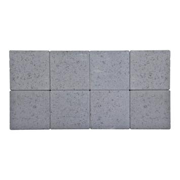 Kasseien Beton Getrommeld Licht Grijs 20x20x6 cm - 72 Stuks / 2,88 m2
