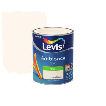 Levis Ambiance lak mat ivoorbeige 750ml