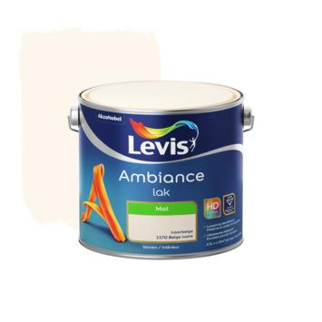 Laque Ambiance Levis mate 2,5 L beige ivoire