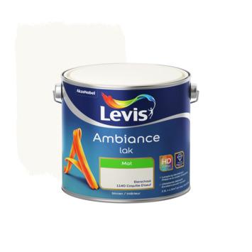 Laque Ambiance Levis mate 2,5 L coquille d'œuf