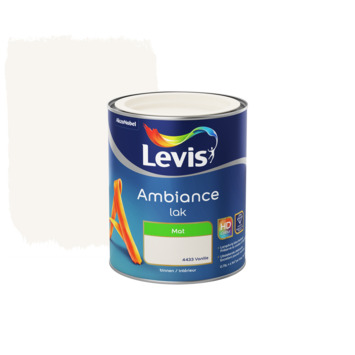 Laque Ambiance Levis mate 750 ml vanille