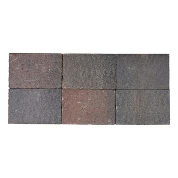 Kasseien Beton Getrommeld Bruin/Rood 20x30x6 cm - 48 Stuks / 2,88 m2