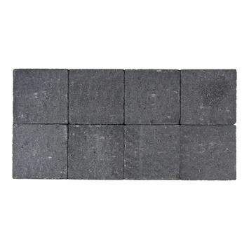 Kasseien Beton Getrommeld Zwart 20x20x6 cm - 72 Stuks / 2,88 m2