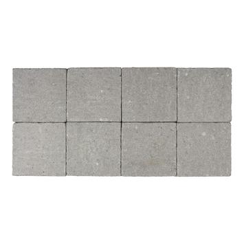 Kasseien Beton Getrommeld Grijs 20x20x6 cm - 72 Stuks / 2,88 m2