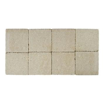 Kasseien Beton Getrommeld Geel 20x20x6 cm - 72 Stuks / 2,88 m2