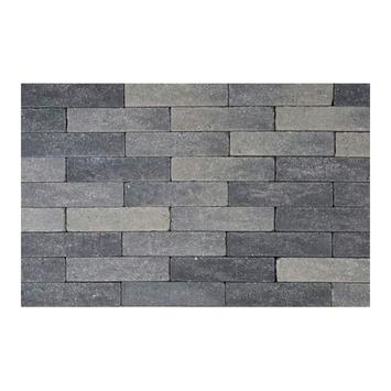 Pavé martelé 20x5x6 cm gris-noir