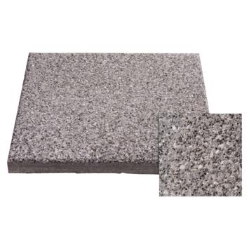 Dalle de terrasse en béton 40x40x3,7 cm gris