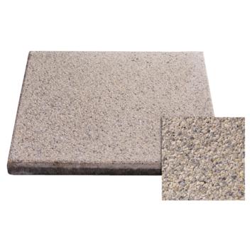 Terrastegels 40x40 Grijs.Terrastegel Beton Licht Grijs 40x40 Cm 6 Tegels 0 96 M2