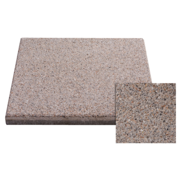 Terrastegel Beton Grijs/Bruin 40x40 cm - 6 Tegels / 0,96 m2