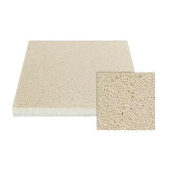 Terrastegel Beton Beige Gecoat 40x40 cm - 6 Tegels / 0,96 m2